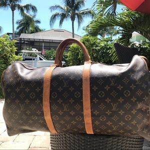 Louis Vuitton Keepall 55 Authentic